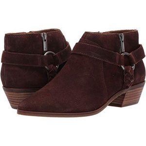 LUCKY BRAND LKEnitha Suede Brown Bootie